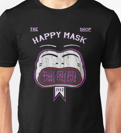 THE HAPPY MASK SHOP! Unisex T-Shirt