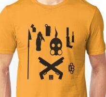 post apocaliptic equipment on your shirt whoooa Unisex T-Shirt