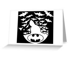 Batman - Bat Greeting Card