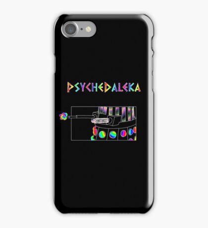 PsycheDaleka Body - Psychedelic Dalek! iPhone Case/Skin