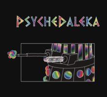 PsycheDaleka Body - Psychedelic Dalek! by jefph