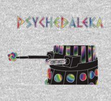 PsycheDaleka Body - Psychedelic Dalek! One Piece - Short Sleeve