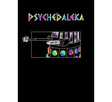 PsycheDaleka Body - Psychedelic Dalek! Photographic Print