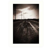 Road of a Dream Art Print