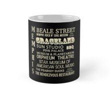 Memphis Tennessee Famous Landmarks Mug