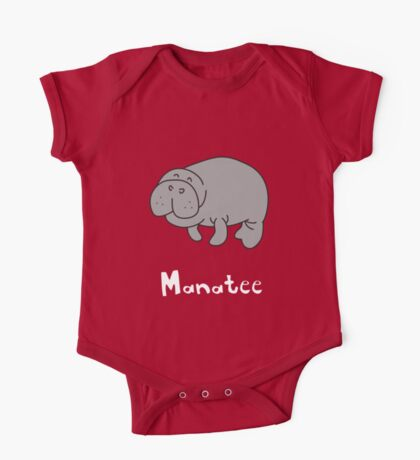 M for Manatee One Piece - Short Sleeve