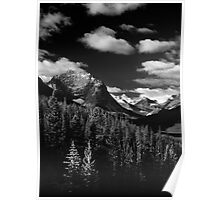 Mountain View, Tonquin Valley, Jasper National Park, Alberta, Canada Poster