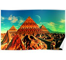 Valley of the Pyramid Builders Poster