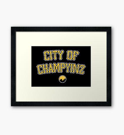 City of Champyinz Framed Print