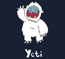 Y for Yeti One Piece - Short Sleeve