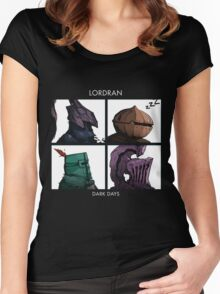 Bros of Lordran Women's Fitted Scoop T-Shirt