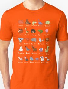 The Animal Alphabet Unisex T-Shirt