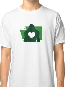 I heart Bigfoot & Washington state Classic T-Shirt