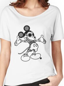 Ratón Miguelito - Black Women's Relaxed Fit T-Shirt