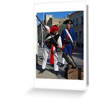 Birgu Re-enactment Malta Maritime Museum  Greeting Card