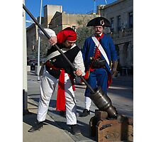 Birgu Re-enactment Malta Maritime Museum  Photographic Print