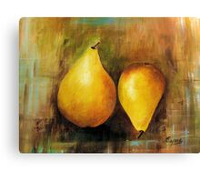 Sweet and Beautiful # 1, Acrylic painting Canvas Print