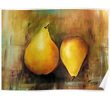Sweet and Beautiful # 1, Acrylic painting Poster