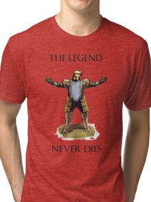 The Legend Never Dies Tri-blend T-Shirt