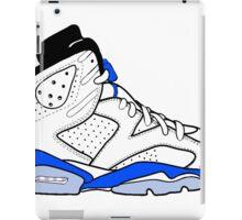 "Air Jordan VI (6) ""Sport Blue"" iPad Case/Skin"