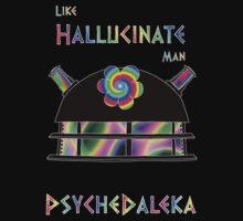 PsycheDaleka Head - Psychedelic Dalek! by jefph