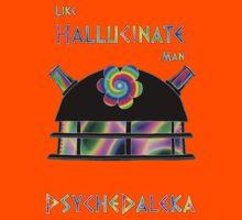 PsycheDaleka Head - Psychedelic Dalek! Kids Tee