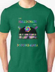 PsycheDaleka Head - Psychedelic Dalek! T-Shirt