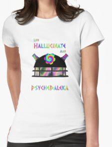 PsycheDaleka Head - Psychedelic Dalek! Womens T-Shirt