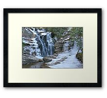 Hanging Rock Upper Cascades Framed Print