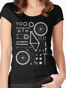 Bike Exploded Women's Fitted Scoop T-Shirt