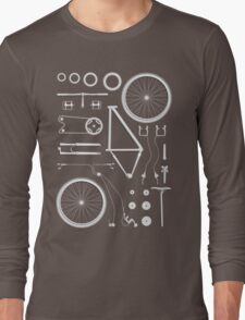 Bike Exploded Long Sleeve T-Shirt