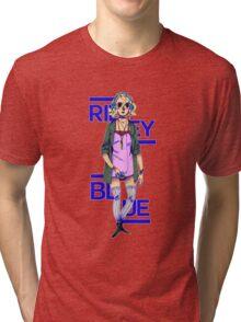 Riley Blue - Sense8 Tri-blend T-Shirt
