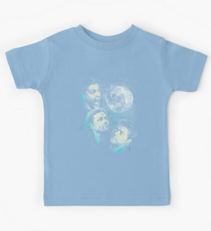 The Mountain Team Free Will Moon - Supernatural Edition Kids Tee