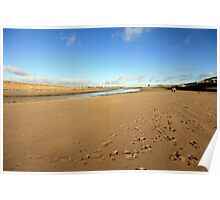 Lahinch beach view Poster