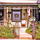 Front Porch in Waxahachie, Texas by Susan Russell