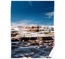Canary Spring, Mammoth Hot Springs, Yellowstone National Park, Wyoming, USA Poster
