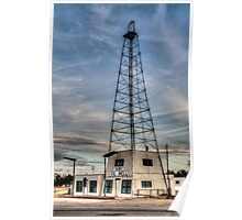 Bob's Oil Well (Matador, Texas) Poster