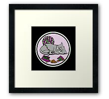 Kitten Smash! Framed Print