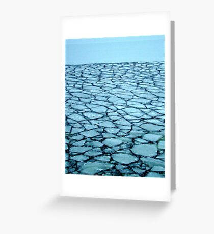 Ice Puzzle Greeting Card