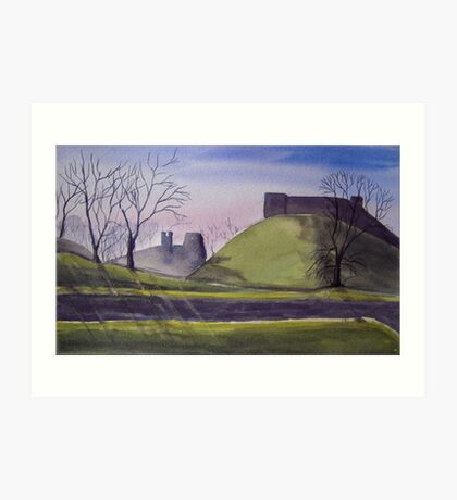 Carisbrooke Castle, Isle of Wight Art Print