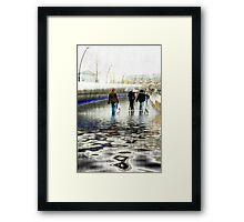 *Heavy Rain* Framed Print
