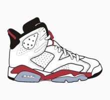 "Air Jordan VI (6) ""White Infrared"" by gaeldesmarais"