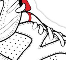 """Air Jordan VI (6) """"White Infrared"""" Sticker"""