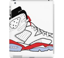 "Air Jordan VI (6) ""White Infrared"" iPad Case/Skin"