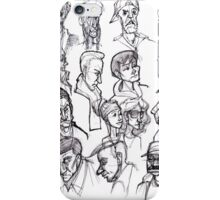 The Faces of San Francisco iPhone Case/Skin
