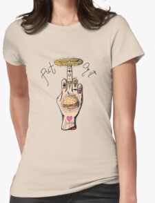 Food Junkie Womens Fitted T-Shirt