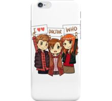 11th Doctor Squad iPhone Case/Skin