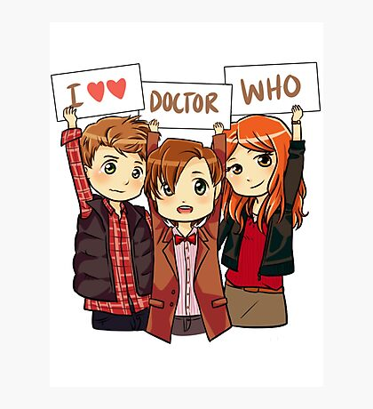 11th Doctor Squad Photographic Print