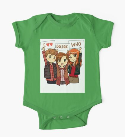 11th Doctor Squad One Piece - Short Sleeve