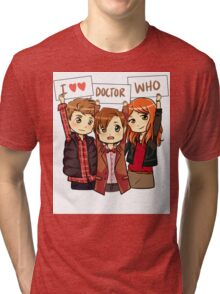 11th Doctor Squad Tri-blend T-Shirt